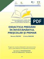 Didactica Predarii in Inv Presc Si Primar Optimizat
