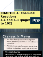 chapter 4 chemical reactions 4 3 to 4 6