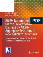 (RILEM State of the Art Reports 17) Nixon, Philip J._ Sims, Ian-RILEM Recommendations for the Prevention of Damage by Alkali-Aggregate Reactions in New Concrete Structures _ State-Of-The-Art Report Of