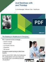 VMware Health Care View Customer Presentation
