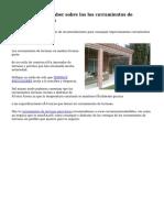 Lo que necesitas saber sobre los los cerramientos de terrazas en madera