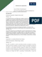 Informe de La Exposicion........