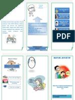 Laporan pendahuluan batuk efektif dan leaflet