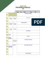 ABS-CBN Program Schedule (1996)