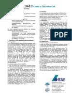 BAE Capacity Test Instruction 2010.06