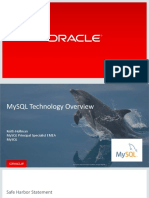 MySQL Technology Overview KH 2016 5.7 Benchmarks
