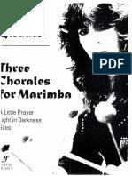 Glennie Three Chorales20151128