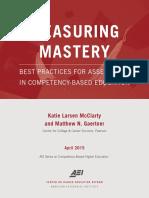 Measuring Mastery