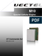 Quectel M10 at Commands