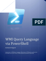 WMI Query Language via PowerShell