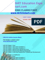 LDR 531 MART Education Expert-ldr531mart.com