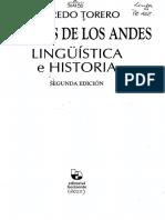 Idioma de Los Andes Torero