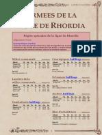 VF - Rhordia KoW2 - Manticgames.fr