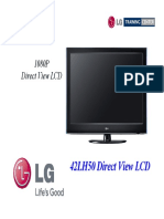 Lg 42lh50 Lcd Tv Training Manual 2009