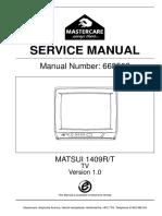 Matsui 1409r Tv Sm