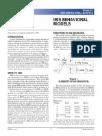 IBIS Models Article