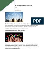 Dampak Positif Dan Negatif Globalisas2