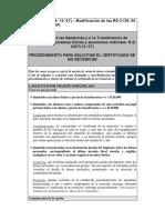 ITI- Procedimiento de No Retención - AFIP (ARGENTINA)
