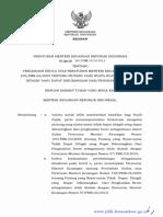 PERATURAN MENTER! KEUANGAN REPUBLIK INDONESIA NOMOR 207 /PMK .010/2015 TENTANG PERUBAHAN KEDUA ATAS PERATURAN MENTER! KEUANGAN NOMOR 105/PMK.03/2009 TENTANG PIUTANG YANG NYATA-NYATA TIDAK DAPAT DITAGIH YANG DAPAT DIKURANGKAN DARI PENGHASILAN BRUTO