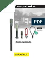 Dokumentation Transportanker PDF