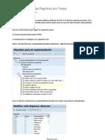 SAP Parametrizando Las Regiones Por Paises