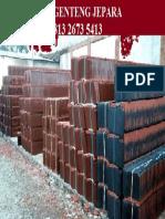 Jual Genteng Mantili Keramik Jepara Murah.16jpg