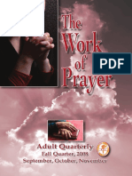 the work of prayer