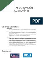 Pautas de Revisión Auditoría Ti