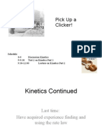 Lecture 3 Kinetics Part 2 PPT