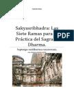 Sakyasribhadra Las Siete Ramas Para La Práctica Del Sagrado Dharma.