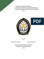 45502038 Proposal Penelitian Msdm