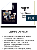 Personality and Consumer Behavior to Give in Class