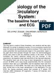 Group 4_baseline Heart Rate & Ecg