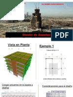 Diseño de Zapatas