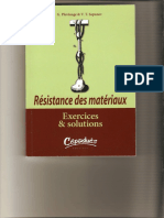 Résistance de Matériaux :Par G.PLUVIAGE.