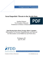 Israel Imperiled - Threats to the Jewish State