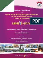 LAMSYS 2016 - Brochure