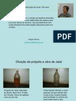 Procedimentos Para Fabricação de Iscas PET