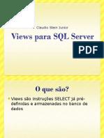 Views Para SQL Server