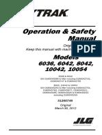 Manual de Operação Skytrak English