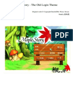 Maplestory the Old Login Theme Orchestra by 梁為寬 (Jiu Deng R Hua Mian)