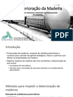 Metodos de Preservação de Estruturas de Madeira