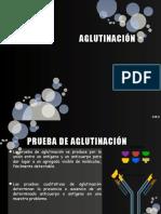 AGLUTINACIÓN