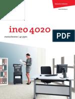 Catalogo Ineo4020 En