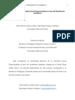 Tesis Final Cibernética Social Proporcionalista y Rendimiento Académico, Agosto 29