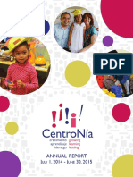 CentroNia Annual Report 2014-2015