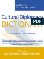 Cultural Diplomacy Dictionary