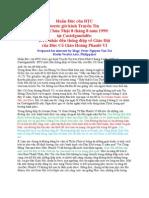 Thông điệp về GH của Đức Phao Lo VI
