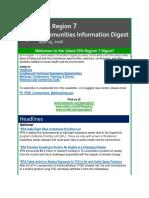 EPA Region 7 Communities Information Digest - Apr 15, 2016
