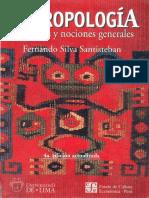 177670942 ANTROPOLOGIA Conceptos y Nociones Generales SILVA SANTISTEBAN PDF